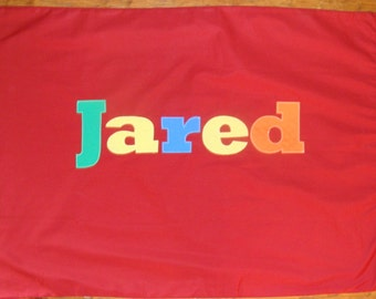 Boy's Personalized Pillow case
