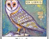 The Spirit Owl Bookplates Personalized or Blank