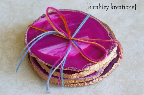 agate coasters free shipping