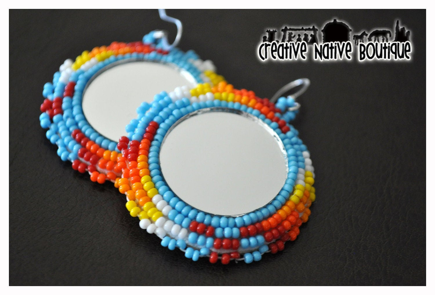 Displaying 19 gt images for native american beadwork earrings