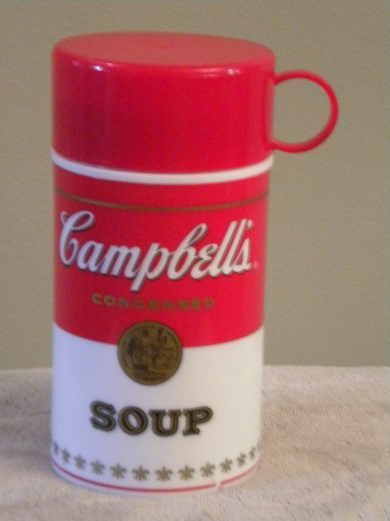 Vintage Campbell's Soup Thermos