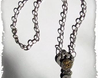 Steampunk Adorned Key