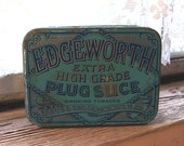 Vintage Edgeworth Plug Slice Tobacco Tin