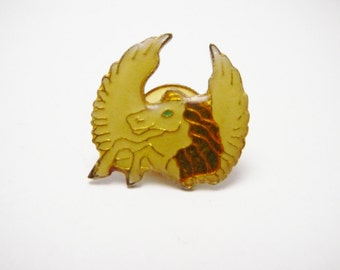 Pegasus Horse with wings Fantasy Hat Pin Vintage