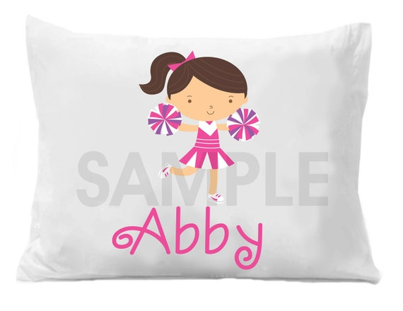 Cheerleader Personalized Pillow Case