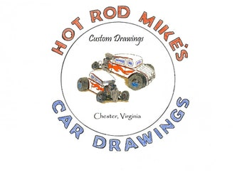 Custom Car Drawing
