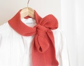 knit wool scarf cherry red - Winter woman accessories - AW 2012-13