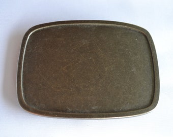 Plain Belt Buckle for snap belts