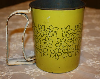 Great Vintage Flour Sifter