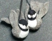 Roly Poly Chickadee Ornament - Beginning Needle Felting Kit