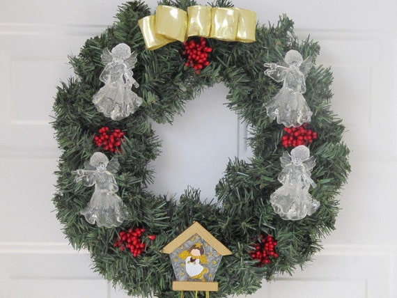 Angel Chime Wreath