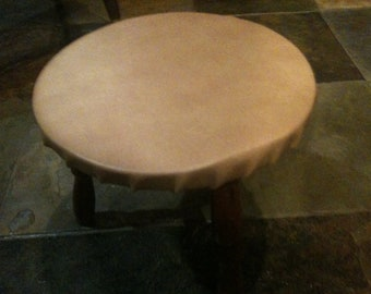 Vintage Repurposed/Recovered Stool Was 14.99