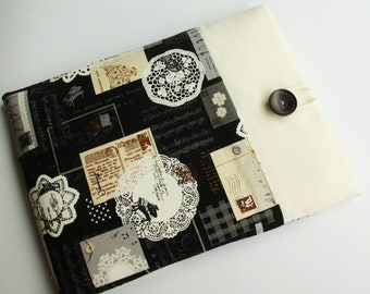 ipad case sleeve for Ipad 4 , Ipad 3 ,Ipad 2  -PADDED-FRONT POCKET-zakka music