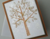 Thanksgiving Greeting Cards:  Handmade Blank Note Card (Batch No.2) - Simple Things