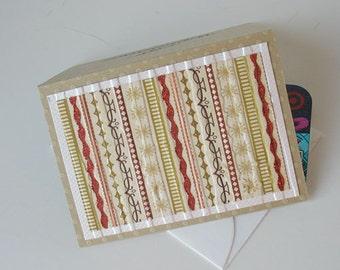 Christmas Gift Card Holder: Blank & Handmade - Ginger Snaps