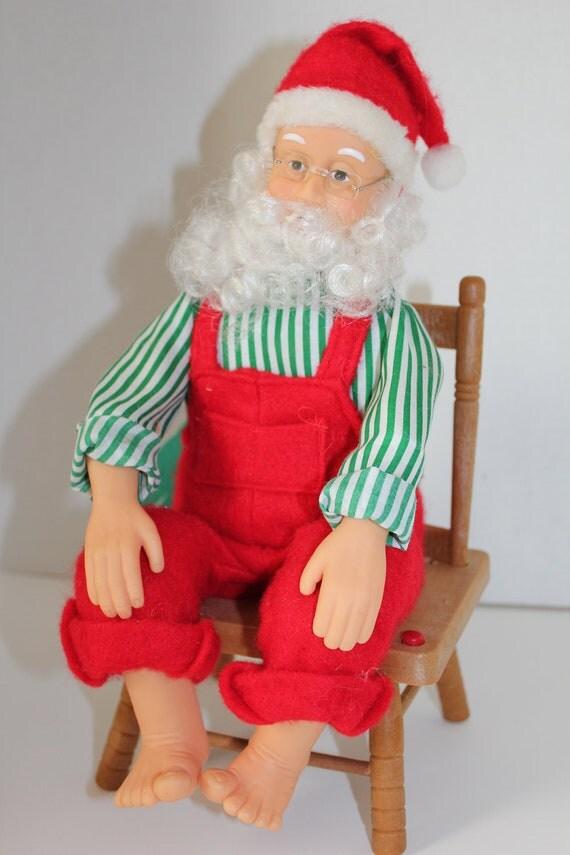Items similar to vintage talking animated santa claus on