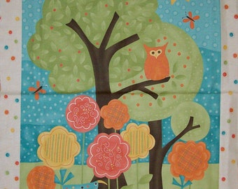 A Gorgeous Moda Frolic By Sandy Gervais Fabric Panel Free US Shipping