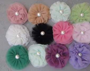Cute   flower applique  12 pieces