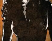 Avengers Black Widow Pop Art Print 5 x 7
