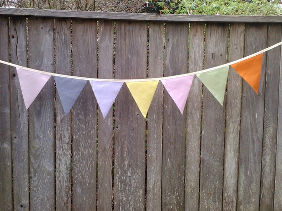 Fabric Bunting Flags, Party Decoration, Birthday Banner, Wedding Decoration pennant Banner Farmers Market Pennant Flags Bunting