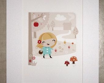 Goldilocks Print