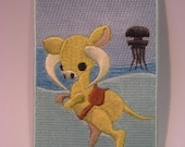 Taun Taun inspired Iron On Patch 2.5 x 3 inch  by Third Half Studios