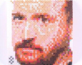 Mini Perler Portrait - Louis CK
