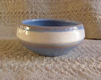 Bowl ceramic Rice Bowl Ceramics and Pottery Tableware Kitchen Stoneware Blue Pottery  Handmade  Pottery Soup Bowl Home Decor  Serving Dish