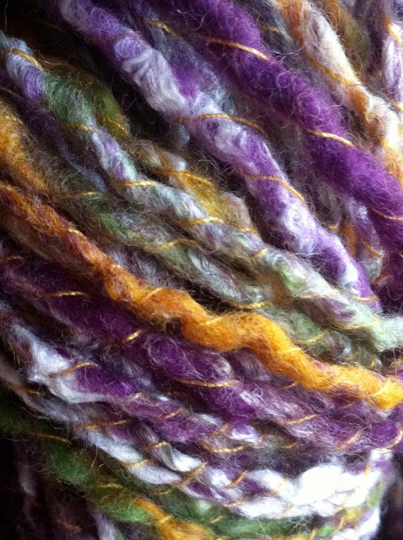 CLEARANCE! Crocus Handspun Yarn