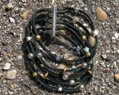 The Wanderer mixed metal beaded bracelet