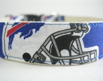 Buffalo Bills hemp dog collar or leash