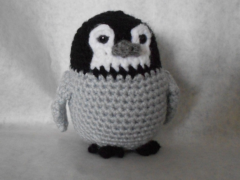 Amigurumi Crochet Penguin Pattern : Baby Penguin Amigurumi Crochet Pattern