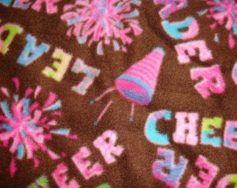 Cheerleader Fleece Throw