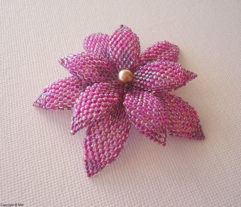 Crown Flower Pendant - A Beadweaving Tutorial | jewelry ...