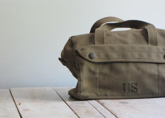 vintage military dopp kit