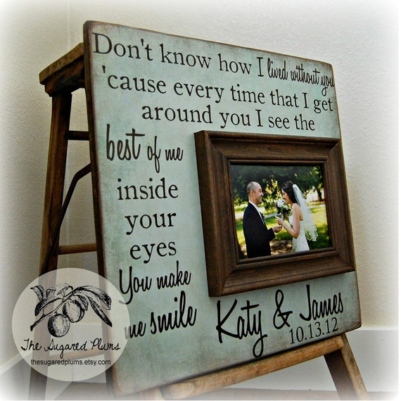 Personalized Wedding Gifts For The Couple : Wedding Gift, Wedding Gifts For Couple, Unique Wedding Gift For Couple ...