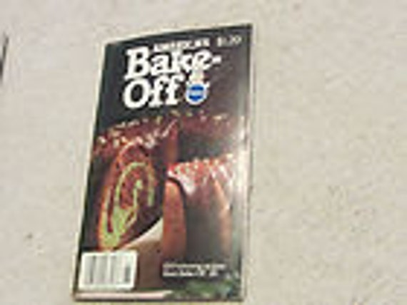 1978 Pillsbury Americas 28th BAKE OFF Doughboy on Cover COOKBOOK Recipes Were you born in 1978 Birthday Gift Idea