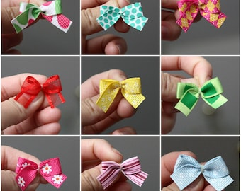 30 Handmade Grooming Bows- All Occasions - Assorted (15 Pairs)