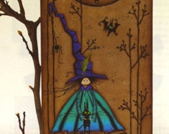 It's Past Midnight-Halloween-Clock-Halloween Witch-Ghost-Black Cat-Halloween Decoration-DIYer