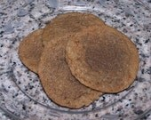1 Dozen Chewy Squishy Ginger Cookies