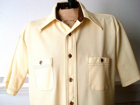 Men's Vintage Short Sleeved Shirt * On Sale!