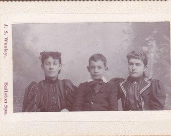 CDV, Carte De Viste - Three Children