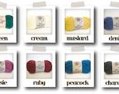 100% Australian Wool Yarn in 8 colours