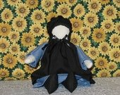 Amish Doll Girl 7 inches tall, very cute. These dolls are loved by young and old .
