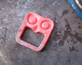 Scary Tiki face forged bottle opener