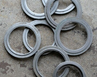 Wrist Watch Case parts -- rings -- set of 8 -- D1