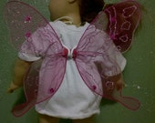 butterfly wings for dolls 18 - 25 inches