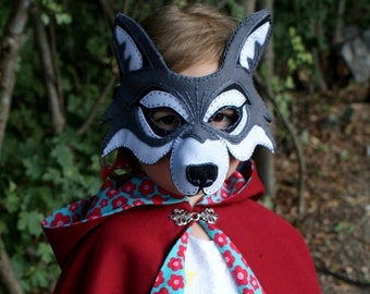 girls big bad wolf costume