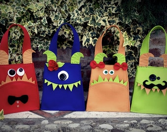Monster Bag Printable PDF Pattern
