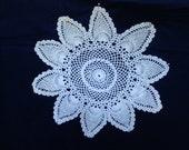 Vintage doily, table ornament, table decor, crochet vintage doily